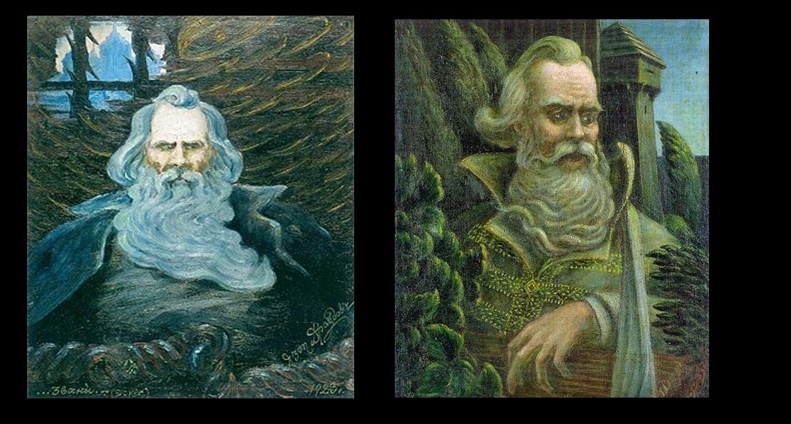 Всеслав Полоцкий в картинах