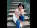 Shen yue. beautiful на лестнице