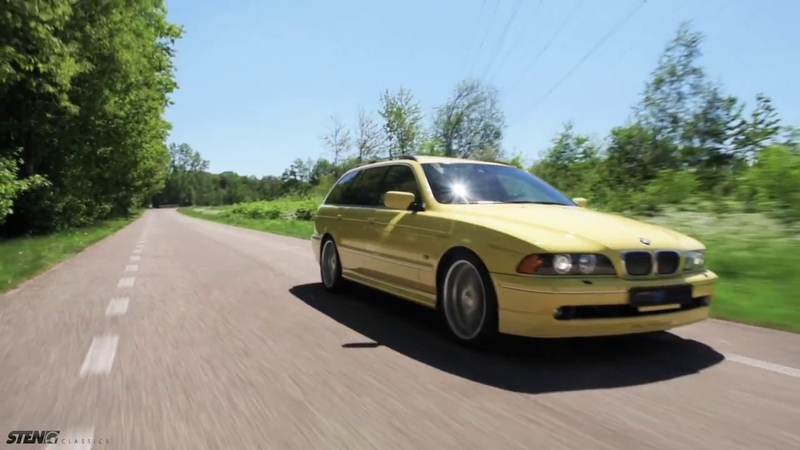 For Sale! BMW Alpina B10 V8S Touring Yellow 2003. Only one build!