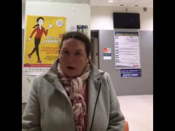 Marie Laure, enseignante, dont l'enfant vient de perdre un œil, s'adresse à monsieur Macron
