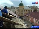Беда не приходит одна обрушение части крыши дома №112 по ул Октябрьской повлекло за собой новые проблемы для его жильцов