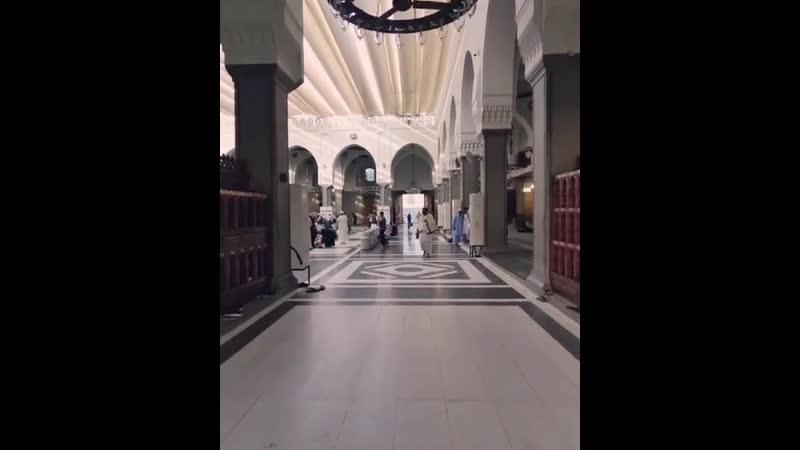 كان رسول الله صلى الله عليه وسلم يأتي مسجد قباء كل سبت ماشياً أو راكباً فيصلي فيه ركعتين احرص على تطبيق سنته 💙💙