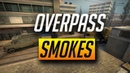 OVERPASS SMOKES YOU MUST KNOW - CSGO (2018)