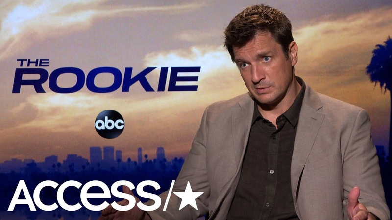 The Rookies Nathan Fillion On What Really Goes Into Running On Camera | Access