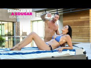 Reagan foxx - sharon fuller reagan foxx fucks by the pool