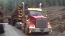Kenworth Logging truck doubles Granite Falls Wa.