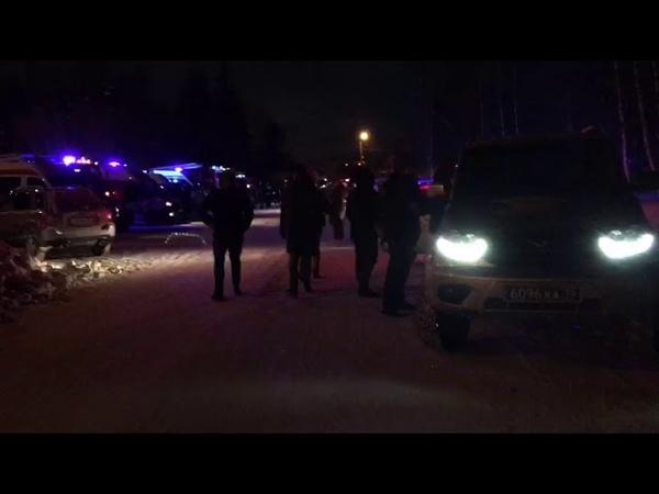 Аэропорт Ханты Мансийска после экстренной посадки Боинга 2