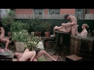 [ retro &  outdoors &  group &  hairy / ass , tender sex , on the beach , jerking off]