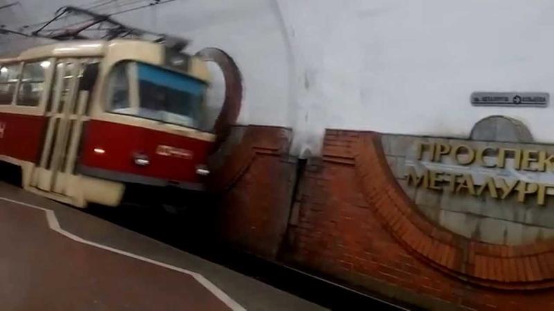 Подземный трамвай Кривой Рог