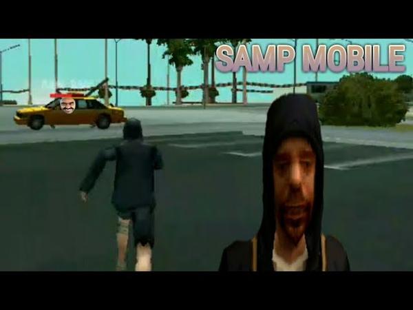 SAMP MOBILE| Обезбашенное такси!