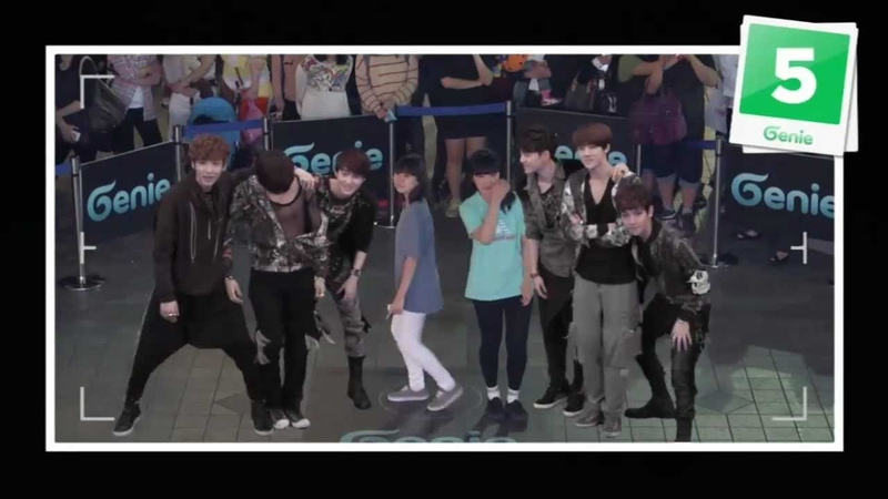 EXO-K _ AR SHOW with Genie(2012.05.12.) _ S06 'One point lesson with CHANYEOL SEHUN' in Seoul (3)
