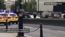 Автомобиль врезался в заграждение около британского парламента