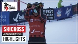 Big Final Thompson secures gold medal Ladies' SX FIS Freestyle Ski World Championships