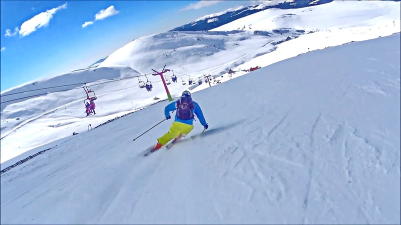 Ski Carving - Little practice in The Dorului Valley, 14.02.2015, By Mister Fox