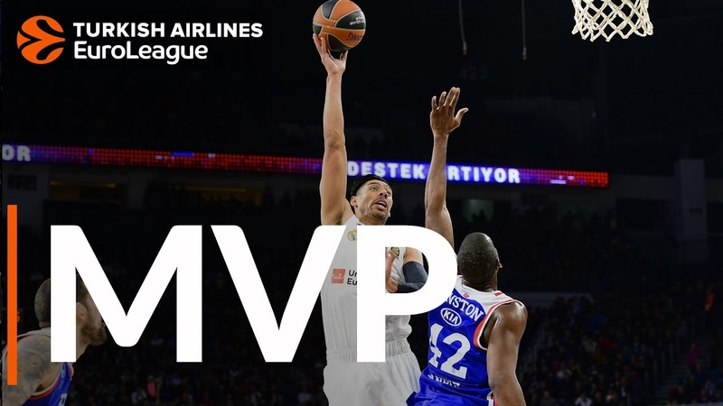 Turkish Airlines EuroLeague Regular Season Round 11 MVP: Gustavo Ayon, Real Madrid