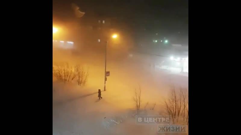 ВЦентреЖизниВоркуты Как бушевала воркутинская метель