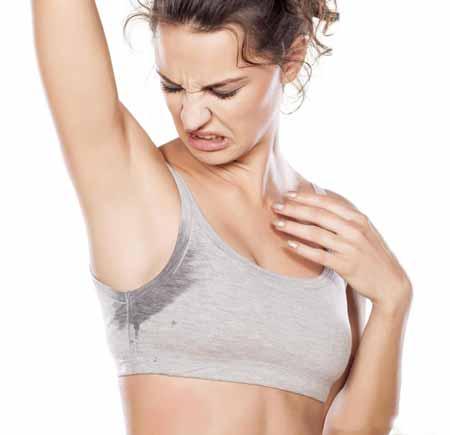 Дезодорант не предназначен для предотвращения потоотделения.