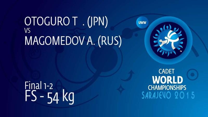 GOLD FS - 54 kg: T. OTOGURO (JPN) df. A. MAGOMEDOV (RUS), 13-6