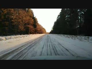 Лёдорога Борисоглеб-Углич сегодня утром