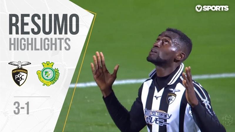 Highlights | Resumo Portimonense 3-1 V. Setúbal (Liga 1819 13)