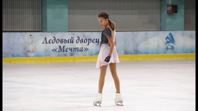 Анастасия Шаботова, ПП (Anastasia Shabotova, FS), 1сп, Призы магазина Фигурист 2018