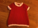 Tuto tricot bebe tricoter une robe de noel