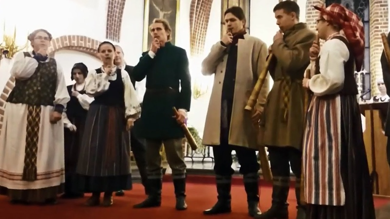 Traditional Lithuanian Folk Melody LINAGO instrumentinė skudučių sutartinė