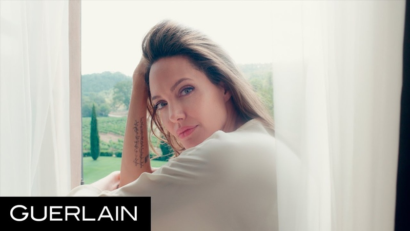 Mon Guerlain - Angelina Jolie in Notes of a Woman - Guerlain