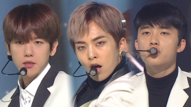 EXO(엑소) - OOH LA LA LA(닿은 순간) @인기가요 Inkigayo 20181111
