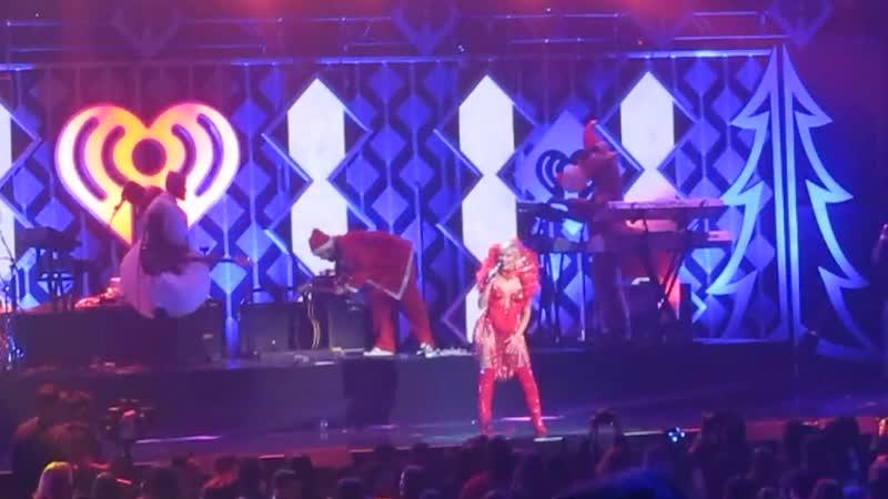 Bebe Rexha - Me Myself I z100 iHeartRadio Jingle Ball MSG