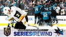 SERIES REWIND: Sharks down Golden Knights in seven-game classic