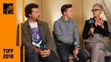 Jamie Lee Curtis, David Gordon Green &amp Danny McBride on 'Halloween' TIFF 2018 MTV News