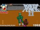 Мощный Удар 2 Денди Прохождение игры на Dendy Power Punch 2 NES Gameplay Видеоигра 1992