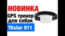 Ошейник GPS трекер TK STAR 911 навигатор для собак кошек животных
