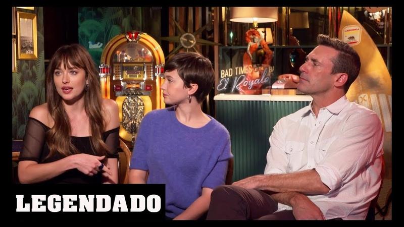 [LEGENDADO] Dakota Johnson, Cailee Spaeny e Jon Hamm - SR Trailers and Interviews