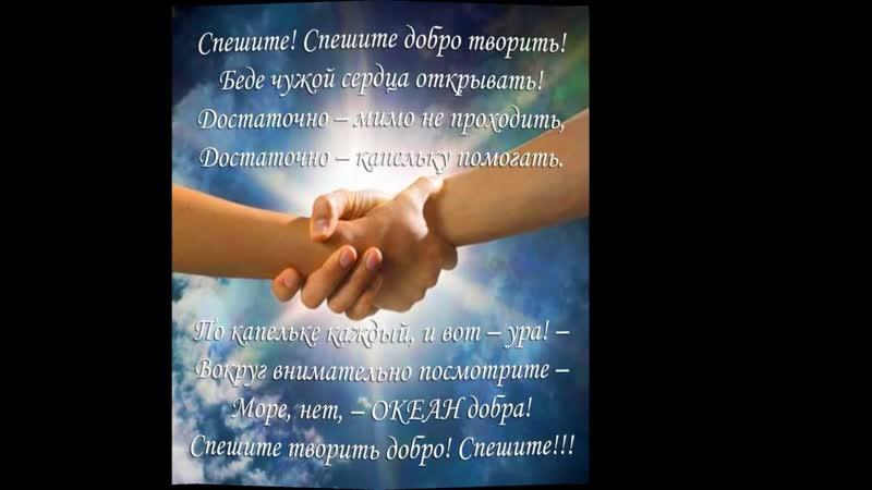 Фильм Год Добровольца в Назаровской школе