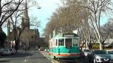 Bendigo, driving through the city
