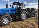 Трактор Беларус 1221.2 в действии