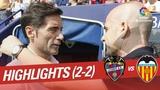 Леванте 2-2 Валенсия Обзор матча Испанской Примеры