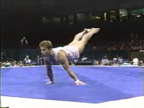 アトランタオリンピック1996 シェルボ 床規定