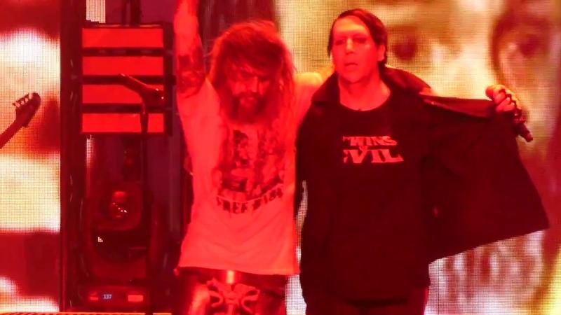 Helter Skelter Rob Zombie Marilyn Manson@PNC Bank Arts Center Holmdel, NJ 7/24/18