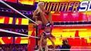 Charlotte Flair vs Becky Lynch vs Carmella WWE SummerSlam 19August 2018 SmackDown Women Championship
