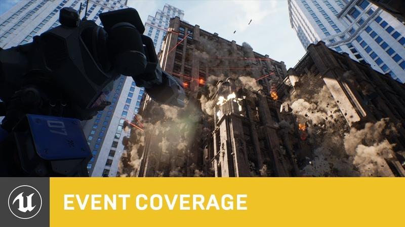 Chaos High-Performance Physics and Destruction System Real-Time Tech Demo | GDC 2019 | Unreal Engine