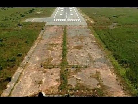 В Гамби случайно найден аэродром пришельцев.Кто и на чем летал до нашей эры.По следам тайны