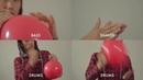 Using Red Balloon As A Musical Instrument - Nena's 99 Luftballons
