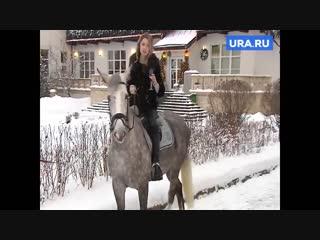 Наталья Поклонская поздравила россиян с новым годом