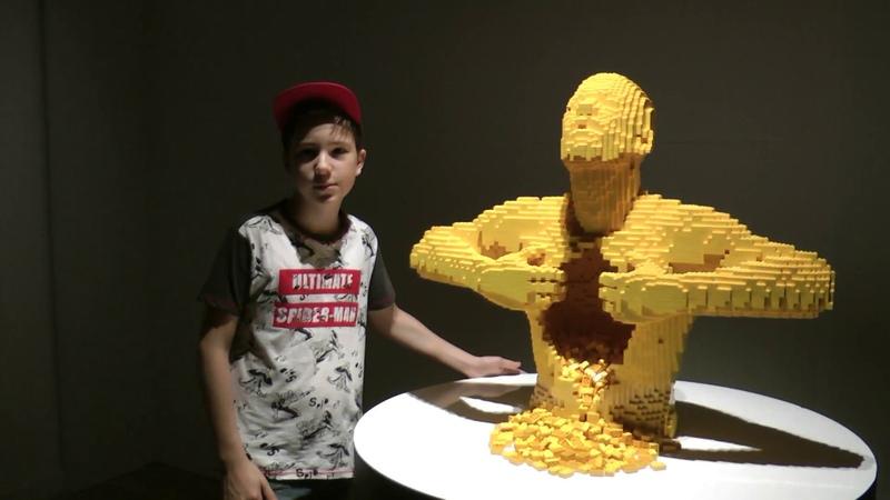 Выставка Искусство Лего в Москве The Art Of The Brick LEGO