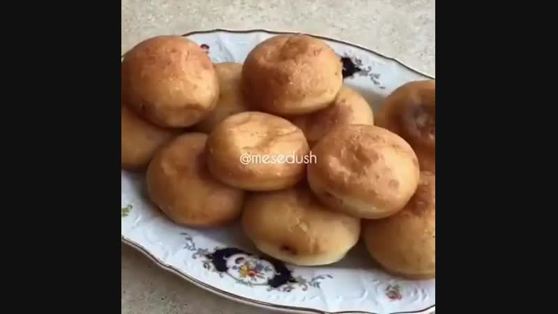 Рецепт пончиков с шоколадной начинкой