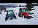 Massey Ferguson 5410 vs Landini 5H90 Ve Kurtarıcımız MF 285 - Yavuzköyü Traktör Denemeleri Part 1