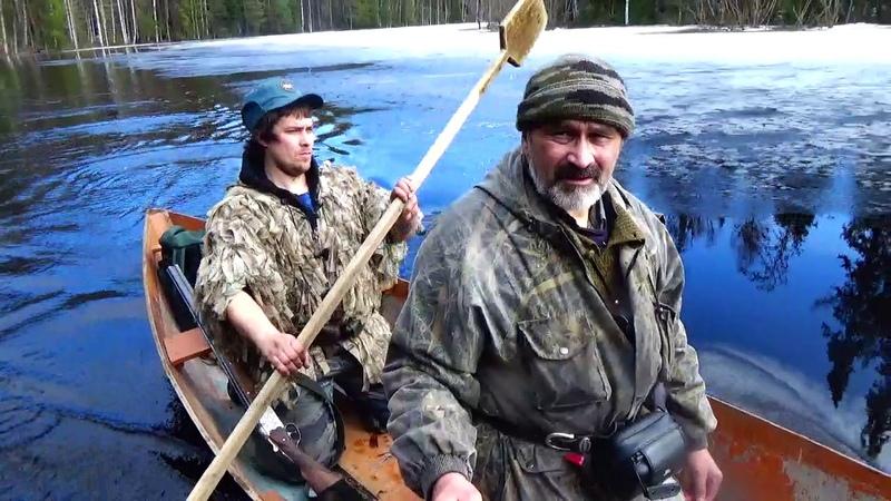 Удорская озерная лодка обласок или пони пу пыж